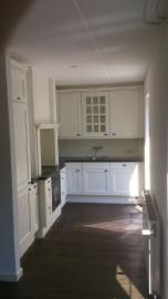 keuken renovatie voor en na foto's