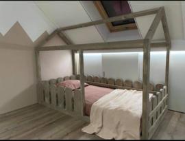 Huisjes bed zonder lade