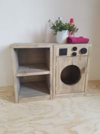 wasmachine en kastje