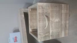 opbergbak gebruikt steigerhout ca45x45x45