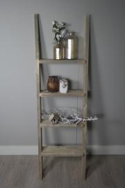 Gebruikt steigerhouten ladder 170 x50