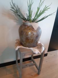 Bijzettafel/plantentafel 60x38x38