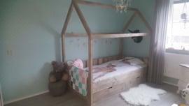 huisjes bed met lades 200x90 matrasmaat