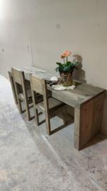 Speeltafel 170x40x60 incl 2x stoel