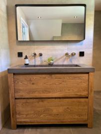 Badkamer meubel met 2 lades