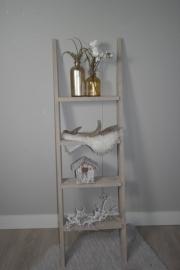 Decoratie ladder 170x50 zand