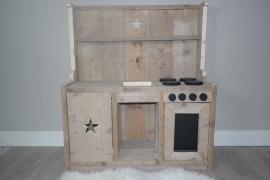 kinder keukentje gebruikt steigerhout