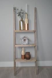 Decoratie ladder gebruikt steigerhout 150x50