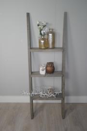 Steigerhouten ladder 150x50 taupe