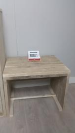 bouwpakket speeltafel gebruikt steigerhout 60x60x60