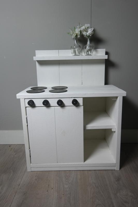 kinder keukentje wit 90x60x40