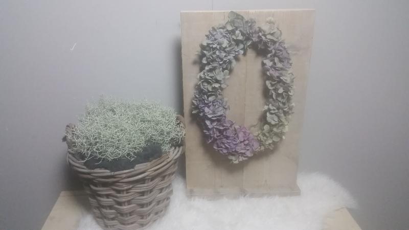 decoratie bord 60x30 gebruikt steigerhout
