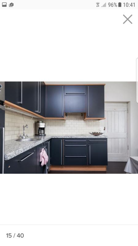 keuken overspuiten