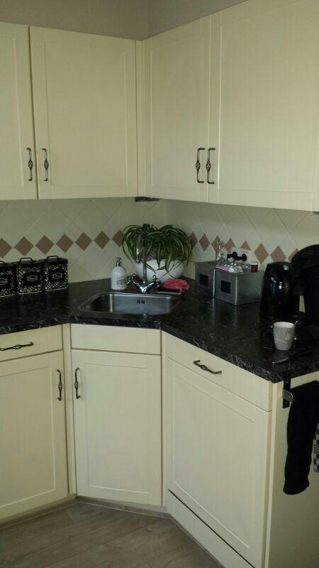 keuken renovatie overspuiten deuren