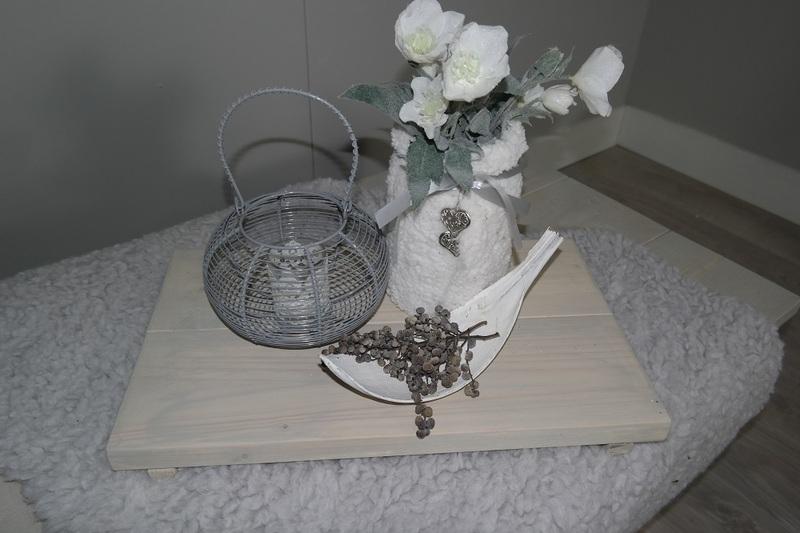 steigerhouten dienblad 30x50 grijslook beits