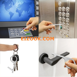 Hygienic no touch Door Window opener