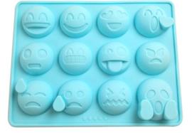 EMOJI VORM voor ijsklontjes en chocolade