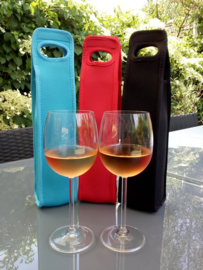 Deluxe wine cooler bags