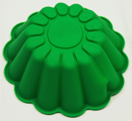 Ribbed mold for cake mousse pudding