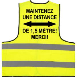 Sicherheits Warnweste - 1,5 Meter