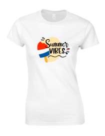 Ladies T-Shirt SUMMER VIBES