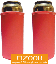 2 x Neoprene Can cooler holder 0.5 l.   Design by EIZOOK