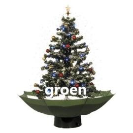 Sneeuwende kerstboom 75 cm