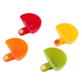 4 Dip Clip Schüsseln