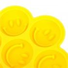 Smiley silicone bakvorm cakevorm Geel