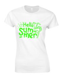 Damen T-Shirt HELLO SUMMER