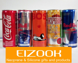 Can cooler holders for 25 cl cans | printed (min. 10 to order)