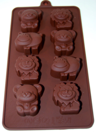 Animals ice chocolate fondant mold