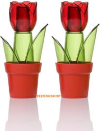 Herevin Set Peper en Zoutstrooier - Tulpen