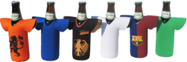 Sport shirt beer bottle cooler - printed