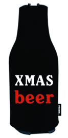 2 x Soporte para enfriador de botellas de cerveza | Tema de Navidad