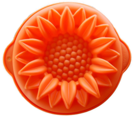 Silicone Cake mold Sunflower shape