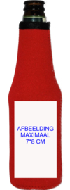 Beer Bottle cooler printed with your text or logo ( Order: minimum of 10 pieces)