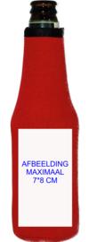 Bierfles koelhoud hoesjes incl bedrukking van 1 kleur (min. 10 stuks)