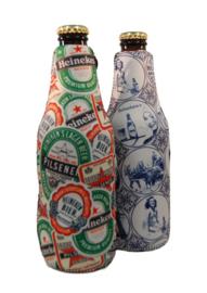 Set Bier Heineken Koelhoudhoesjes Thema Logo - Delfts Blauw