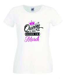 Queens - Kings are born in Camiseta