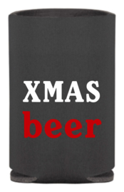 2 Can Cooler holders - koozies Theme Christmas