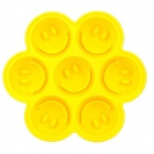 Smiley face cake icecube mold Yellow