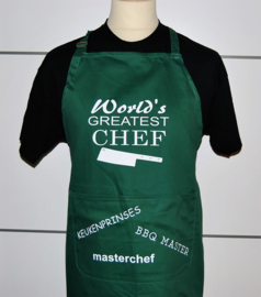 Aprons with personal print