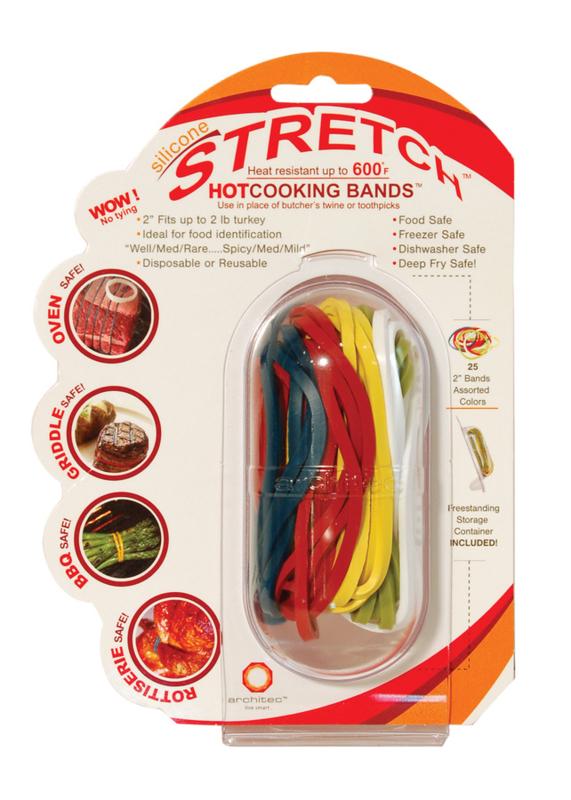 25 Silicone kook bak invries bandjes in 4 kleuren Herbruikbaar!