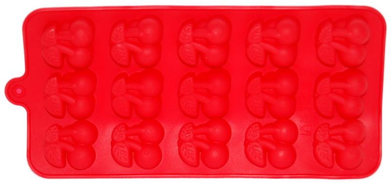 Cherry Mold - icecubes - Chocolate - Fondant