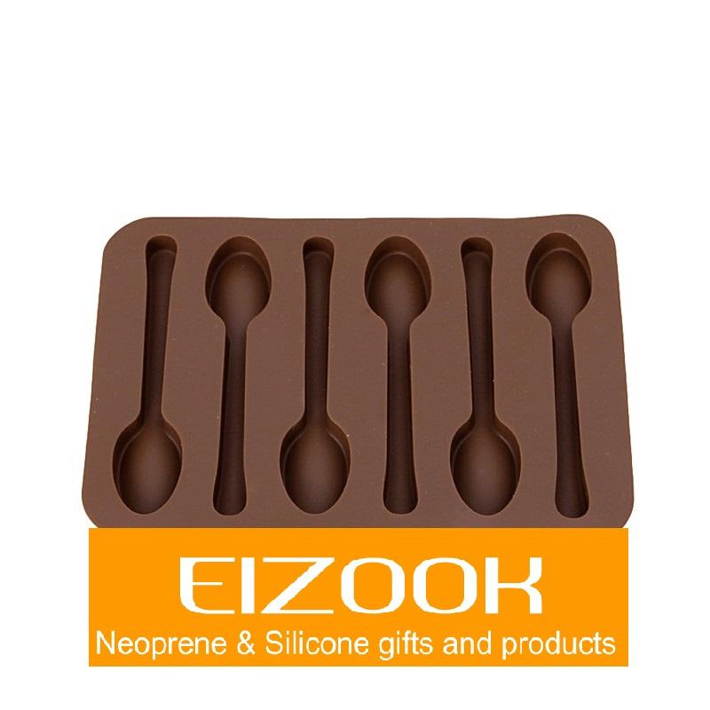 Silikon Backform Löffel Design Schokolade