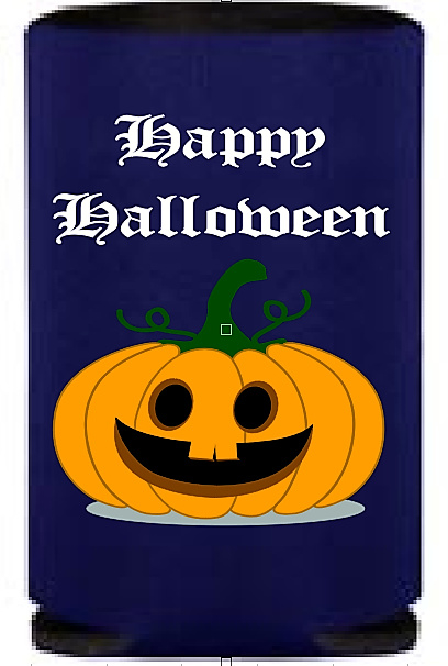 2x Can cooler - blikjes koelers Halloween