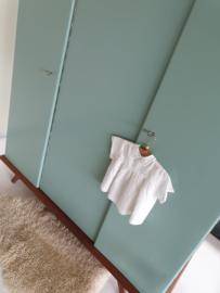 Vintage – driedeurs kledingkast / Celadoon –39 - restyle