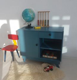 Vintage – kastje – petrol blue – restyle