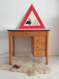 Vintage houten bureau van Piet Zwart - 15